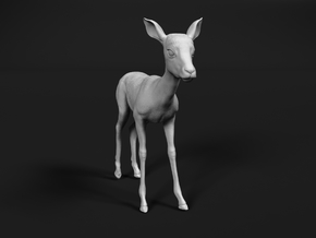 Impala 1:72 Standing Fawn in Smooth Fine Detail Plastic