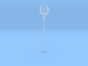 Angel Staff in Smooth Fine Detail Plastic