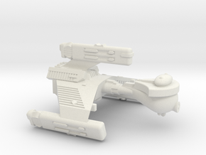 3788 Scale Klingon F6 Battle Frigate WEM in White Natural Versatile Plastic