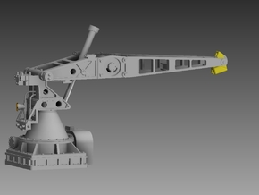 1 x Hunt Class Lower deck Crane Open Frame 1/48 in Smooth Fine Detail Plastic