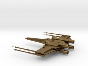 X-Wing in Natural Bronze
