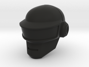 Glatorian Daft Punk Helmet 2 in Black Natural Versatile Plastic