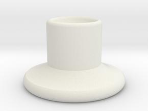 HIC Nipple V2 in White Natural Versatile Plastic