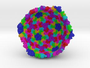 Half of Salmonella Bacteriophage ε15 in Full Color Sandstone