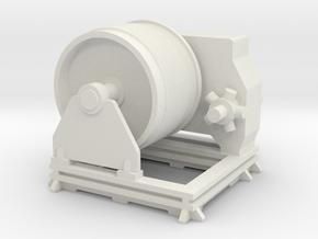 Winch 1:100 in White Natural Versatile Plastic