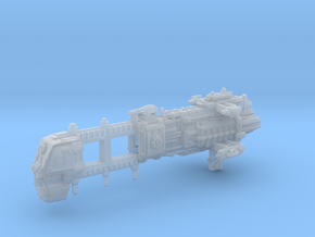 Explorer class Light Cruiser Hull in Smooth Fine Detail Plastic