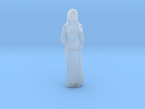 Printle F Morticia Addams - 1/87 - wob in Smooth Fine Detail Plastic