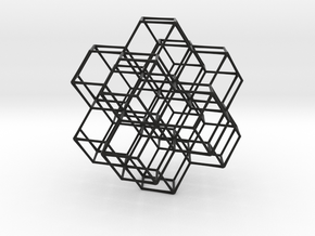 Rhombic Dodecahedral Lattice in Black Premium Strong & Flexible
