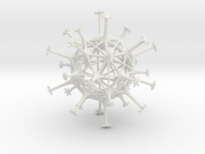 Exospore in White Premium Versatile Plastic