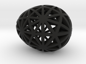 Mosaic Egg #9 in Black Premium Strong & Flexible