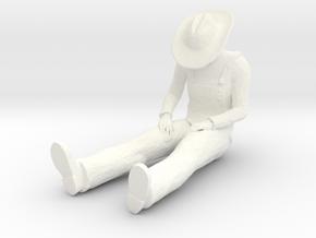 Moonshine Mike in White Processed Versatile Plastic: 1:22.5