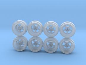 Equip Monoblock 5Spk Hot Wheels Rims in Smoothest Fine Detail Plastic