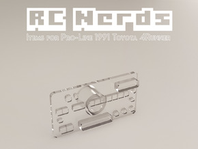 RCN064 Radio back panel for Toyota 4Runner 91 in Frosted Ultra Detail