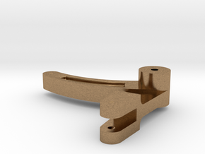HO Valve Gear Reverse Shaft Lever RS in Natural Brass