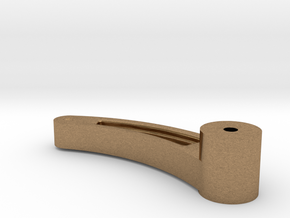HO Valve Gear Reverse Shaft Lever LS in Natural Brass
