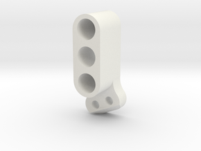 TC4 Camber Link Mount FL RR 2POS in White Natural Versatile Plastic