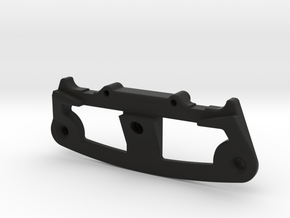TC4 Bumper V2 (lightweight) in Black Natural Versatile Plastic