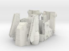 1/144 Imperial Assault Carrier (Gozanti, split) in White Natural Versatile Plastic