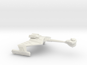 3125 Scale Klingon D7K Refitted Battlecruiser WEM in White Natural Versatile Plastic
