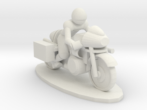 ThunderRoadRallyGunbike in White Strong & Flexible