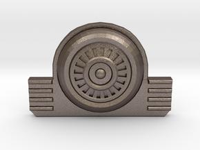 Vault Suit - Back Clip in Polished Bronzed Silver Steel