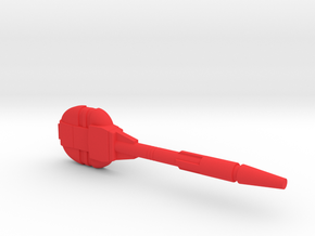 Starcom - F-1400 Starwolf Lasercannon in Red Processed Versatile Plastic