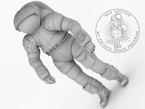 Mark III Mars Experimental Spacesuit  1:12 / 1:16 in White Natural Versatile Plastic: 1:12