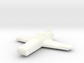 Dart Fighter in White Processed Versatile Plastic