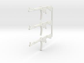 1/12 scale StG-44 in White Premium Versatile Plastic