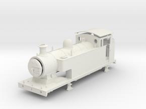 7mm - LB&SCR E2-X V2 Freelance  - Body (WSF) in White Natural Versatile Plastic
