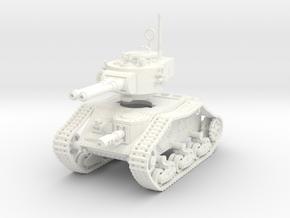 15mm Autocannon Empire Tank in White Processed Versatile Plastic