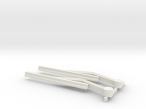 1/10 Scale Windshield Wiper for Axial Crawlers in White Strong & Flexible