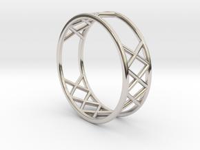 XXX Ring Size  [ 13 ] in Platinum