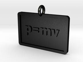 Momentum Pendant in Matte Black Steel