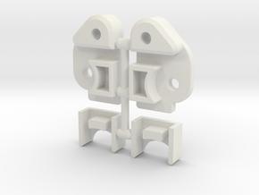 Vaterra Ascender RULR - LWB or SWB in White Premium Versatile Plastic