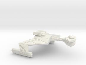3788 Scale Klingon SD7K Strike Cruiser WEM in White Natural Versatile Plastic