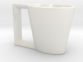Demi Tazzi Espresso in Gloss White Porcelain