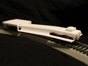 ET&WNC Trailer Car in White Strong & Flexible: 1:48 - O