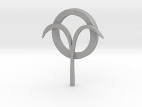 Jancarus Logo in Aluminum: Extra Small