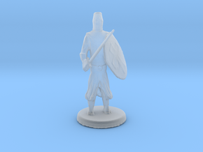 Templar Knight in Smooth Fine Detail Plastic