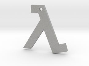 Half Life pendant in Aluminum