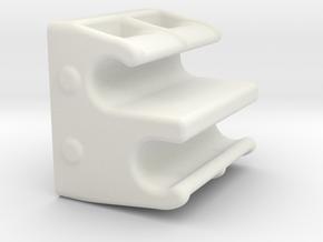 RG BK Ack Position Quick Adjuster v1.4 in White Natural Versatile Plastic