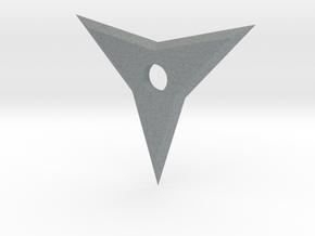 3 Point Ninja Star in Polished Metallic Plastic