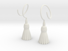 Tassels in White Premium Versatile Plastic