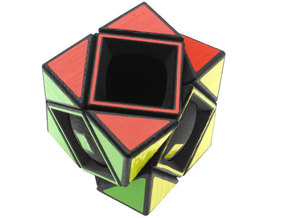 Deep Skewb in White Natural Versatile Plastic