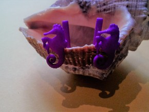 Chapter 3: He is giving birth! Cufflinks in Purple Strong & Flexible Polished