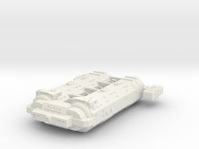 Omni Scale General Large Auxiliary Cruiser SRZ in White Natural Versatile Plastic
