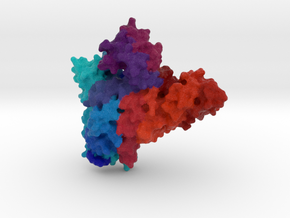 Cmr2 Subunit of CRISPR-Cas in Full Color Sandstone