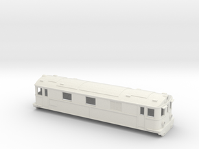 Swedish SJ electric locomotive type Pb - H0-scale in White Natural Versatile Plastic