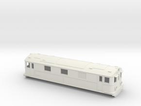 Swedish SJ electric locomotive type Pb - H0-scale in White Natural Versatile Plastic